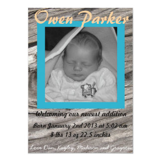 Birth Announcement (BOY)