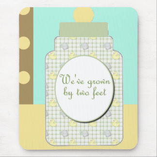 Birth Announcement Boy or Girl Mouse Pad