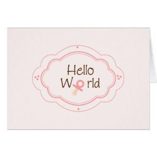 Birth Announcement! Card