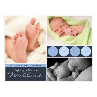 Birth Announcement Cards Postcard