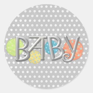 Birth Announcement Envelope Seals