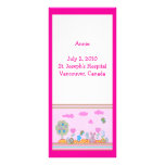 Birth Announcement Full Color Rack Card