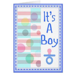 Birth Announcement - It's a Boy!