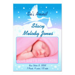 Birth Announcement Photo Card for Boys or Girls