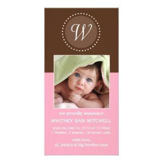 Birth Announcement Photo Card