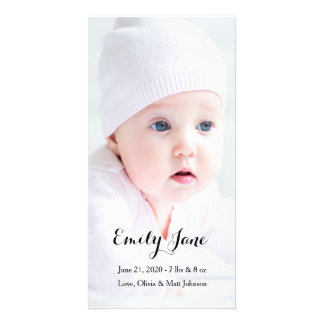 Birth Announcement - Photo Cards