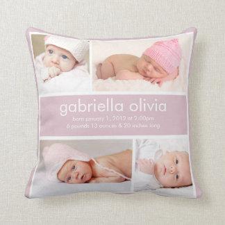 Birth Announcement | Pillow