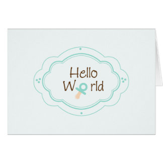 Birth Announcement! Stationery Note Card