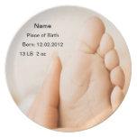 Birth Baby Boy/Girl Plate
