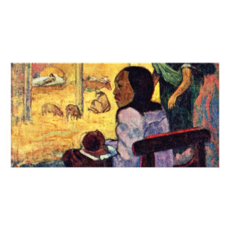 Birth Bé Bé By Gauguin Paul Best Quality Custom Photo Card