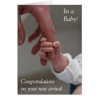 Birth Congratulations Card