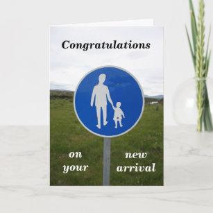 sign congratulations cards zazzle