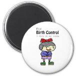 birth control fridge magnet
