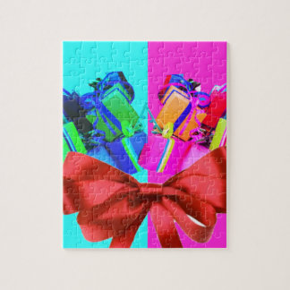 Birth date is  a great reason to congratulate jigsaw puzzle