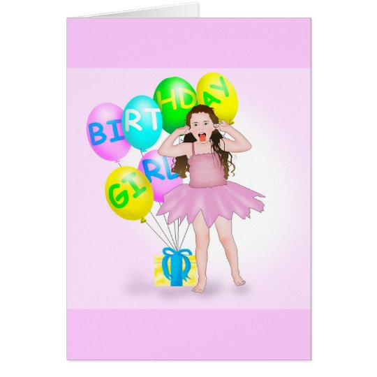 Birth Day Girl Card