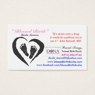 Birth Doula Card