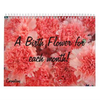 Birth Flower calender Calendar