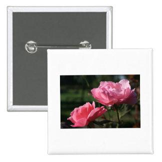 Birth Flower - JUNE - Rose Button