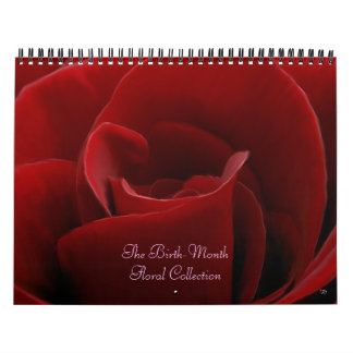 Birth-Month Floral Calendar