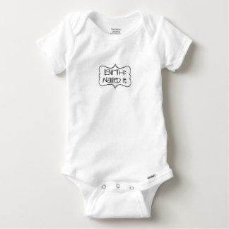 Birth - Nailed It Baby Onesie