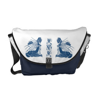 Birth Of A Dragon - Blue Courier Bags