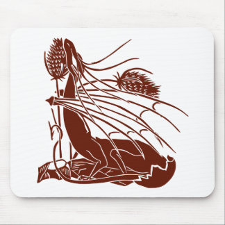 """""""Birth Of A Dragon"""" - Deep Red - Mouse Pad"""