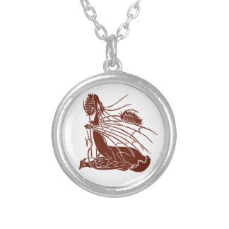 """""""Birth Of A Dragon"""" - Deep Red - Round Pendant Necklace"""