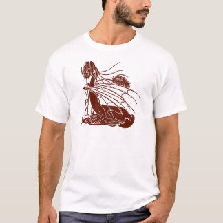 """Birth Of A Dragon"" - Deep Red - T-Shirt"