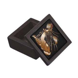 """""""Birth Of A Dragon"""" - Faux Copper Gift Box"""