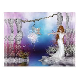 Birth Of A Fairy Postcard