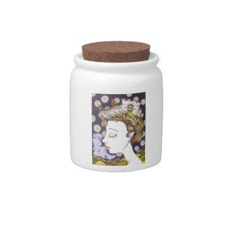 Birth of a Kingdom Candy Jar