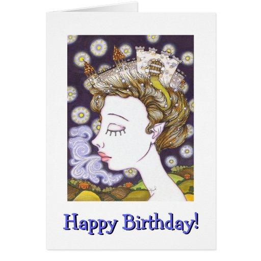Birth of a Kingdom Greeting Card
