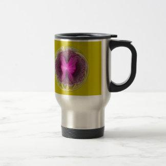 Birth of a poppy travel mug