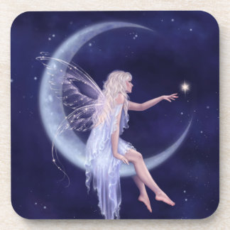 Birth of a Star Moon Fairy Coasters - Set of 6