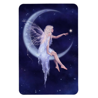 Birth of a Star Moon Fairy Flexible Magnet