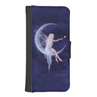 Birth of a Star Moon Fairy iPhone Wallet Case Phone Wallet Cases