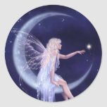 Birth of a Star Moon Fairy Sticker