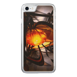 Birth of a Sun Abstract Carved iPhone 7 Case