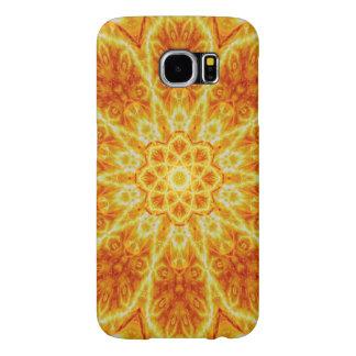 Birth of a Sun Mandala Samsung Galaxy S6 Case