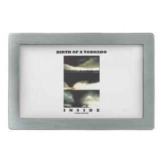 Birth Of A Tornado Inside (Meteorology) Belt Buckle
