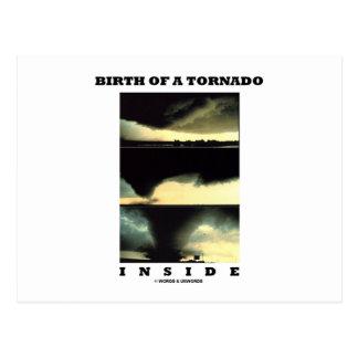 Birth Of A Tornado Inside (Meteorology) Post Cards
