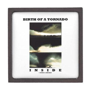 Birth Of A Tornado Inside (Meteorology) Premium Gift Box