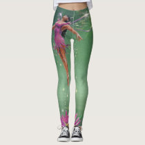 Birth of a Water Nymph Leggings