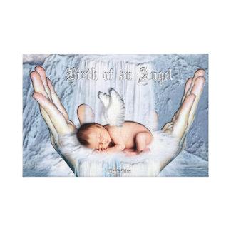 Birth of an Angel Canvas Print