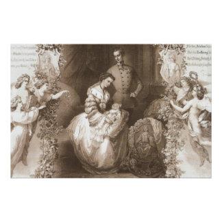 Birth of Archduchess Sophie Poster