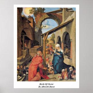 Birth Of Christ By Albrecht Durer Poster