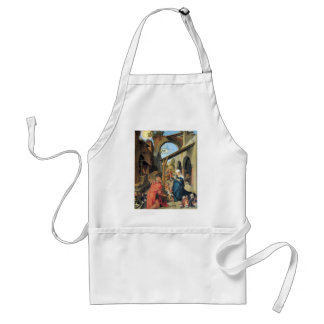 Birth of Christ by Durer Adult Apron