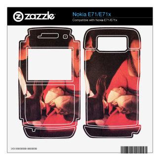 Birth of Christ by Georges de La Tour Skins For Nokia E71x
