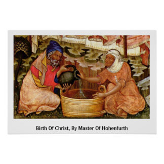 Birth Of Christ, By Master Of Hohenfurth Poster