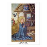 Birth Of Christ By Stefan Lochner Post Cards